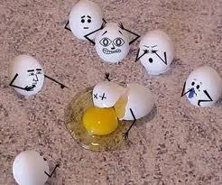 uova rotte,pasqua, libro pasqua uova